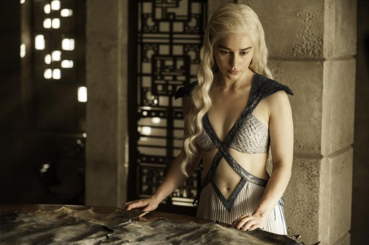Daenerys Targaryn in Game of Thrones