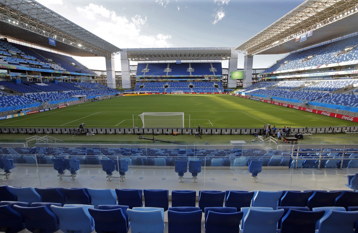 Securing the Arena Pantanal football stadium in Cuiaba, Brazil is no easy feat, but not sharing internal security access details would help