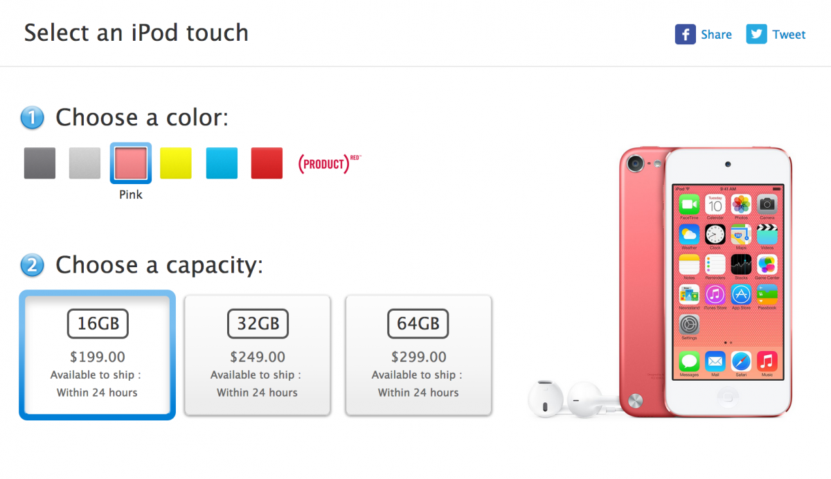 New Apple iPod Touch Launched by Apple