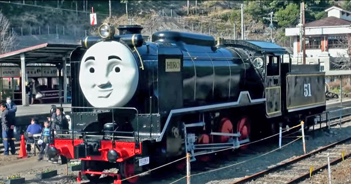 Hiro, a Japanese train who is a friend of Thomas in the recent TV series