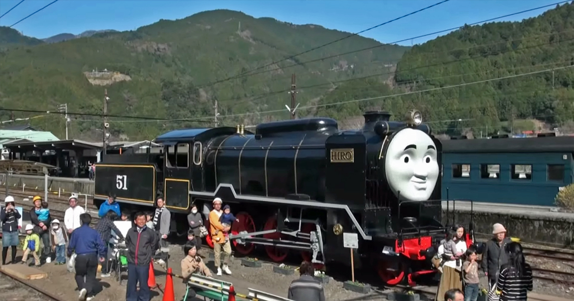 Hiro was the first steam engine ever to run on the island of Sodor