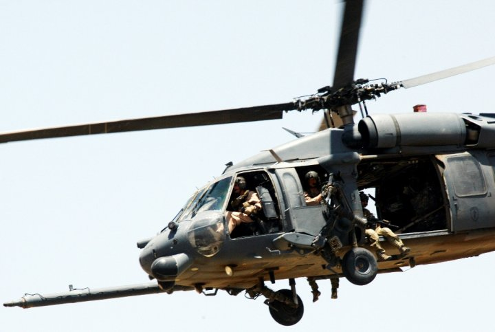US Airforce UH-60 Black Hawk Helicopter