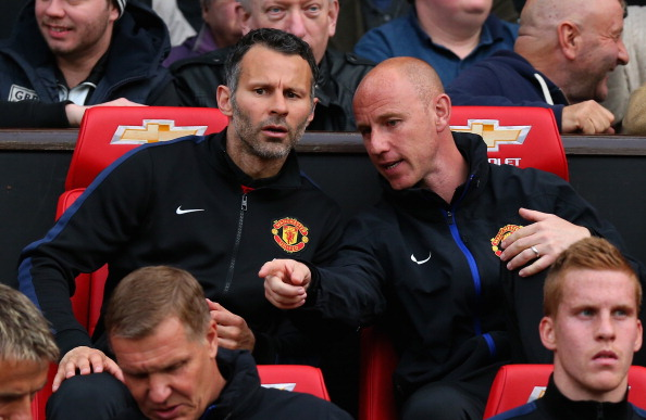 Ryan Giggs and Nicky Butt