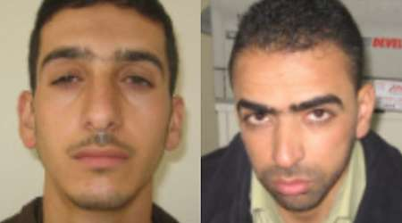 Marwan Qawasmeh and Amar Abu Aisha