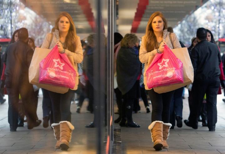 Pedestrians London UK