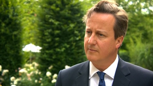 Cameron says Juncker 'Wrong Approach' for EU Future