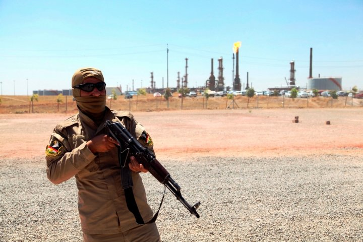 Oil Refinery Mosul Iraq
