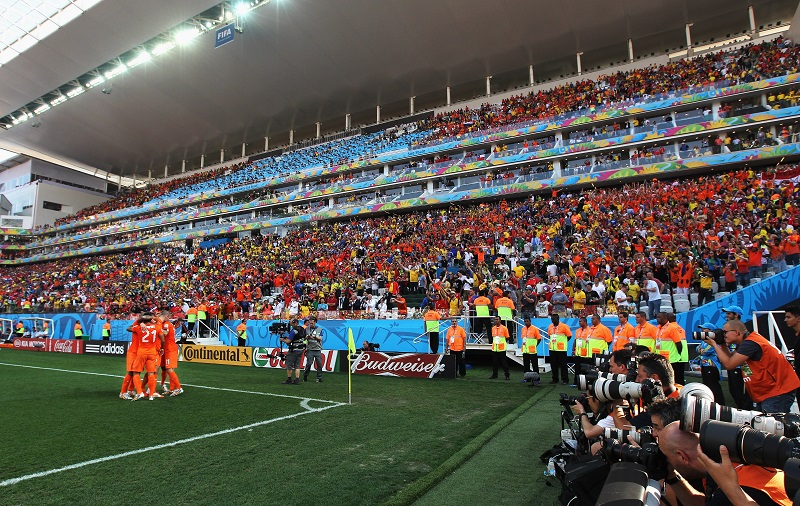 Securing the Arena de Sao Paolo football stadium in Brazil is no easy feat, but not sharing internal security access details might help