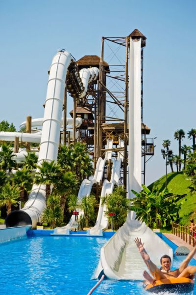 Spacemaker  water slide
