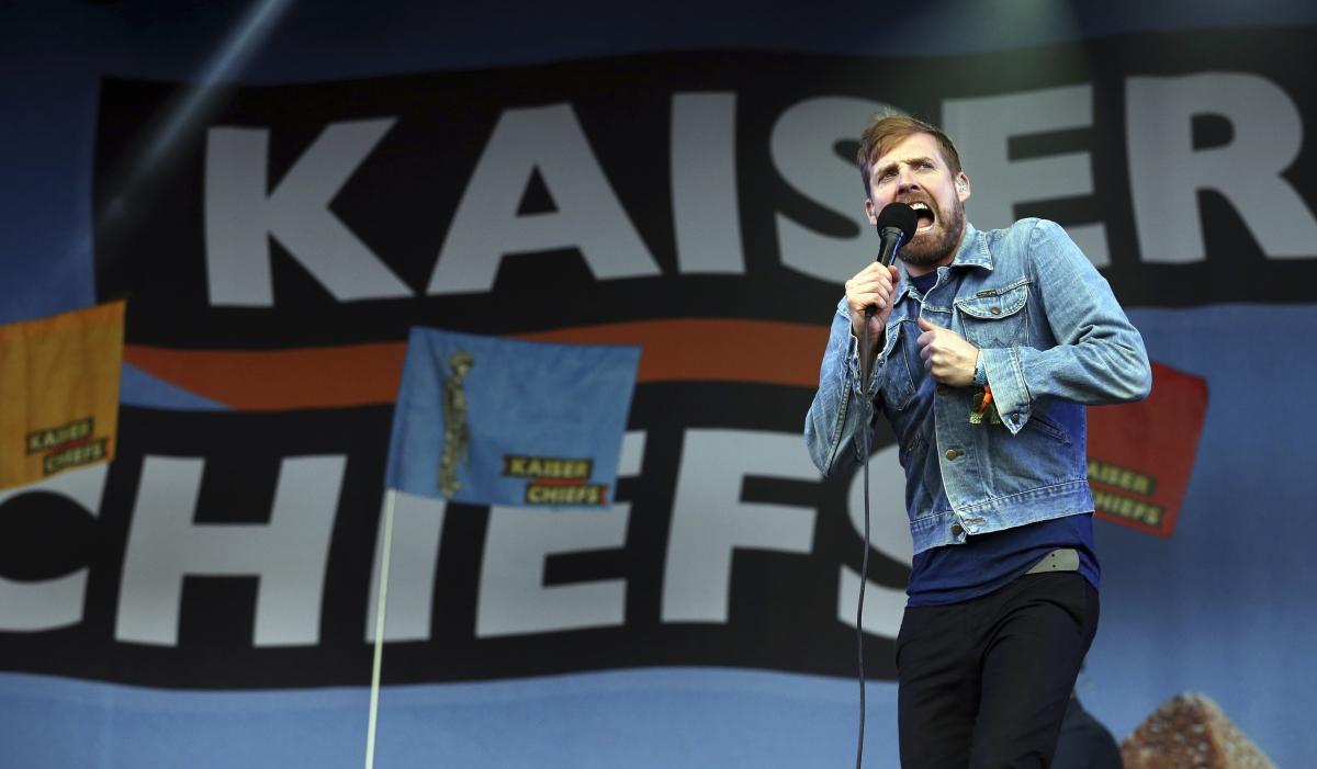 glasto Kaiser Chiefs
