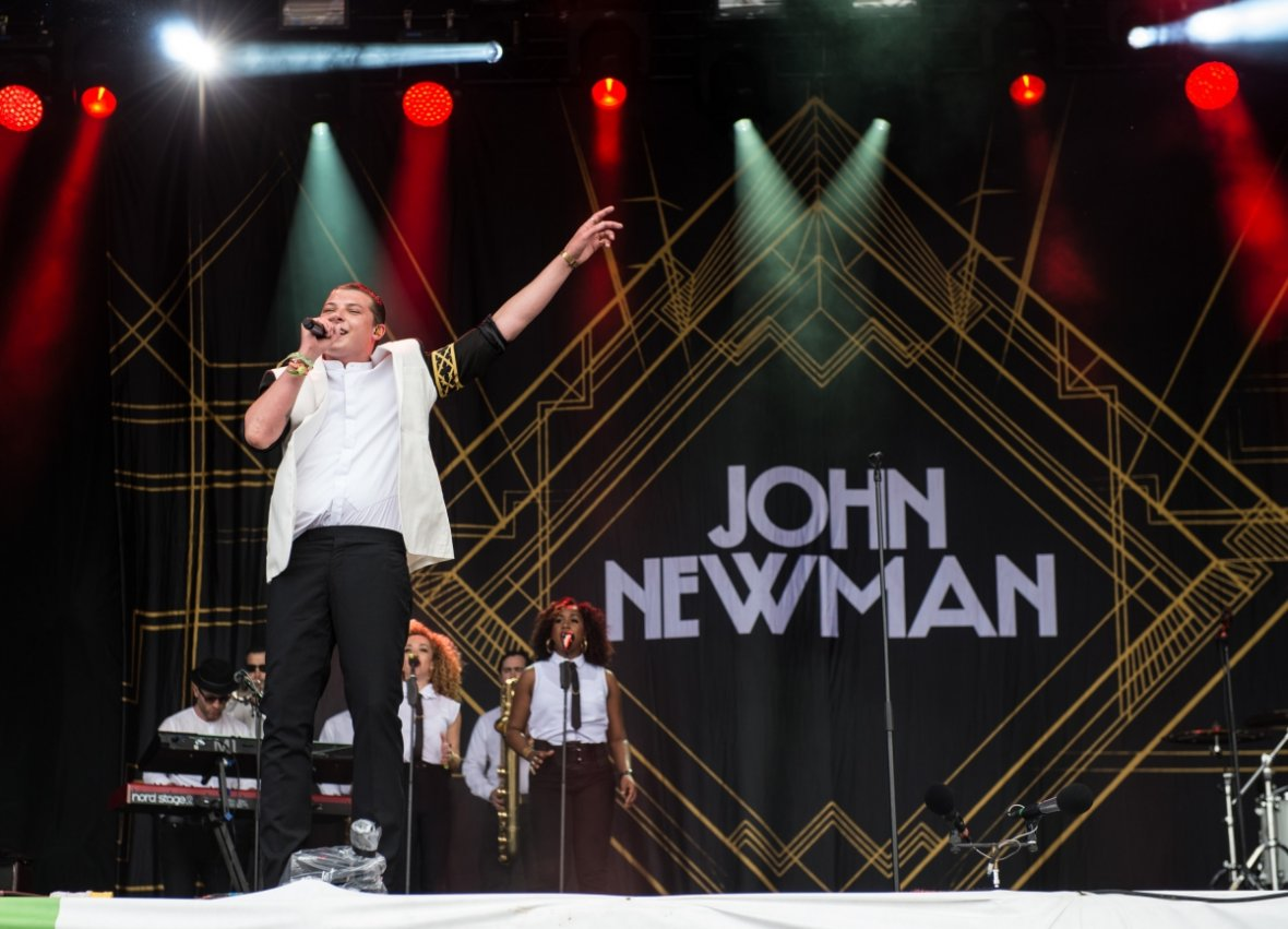 Glasto John Newman