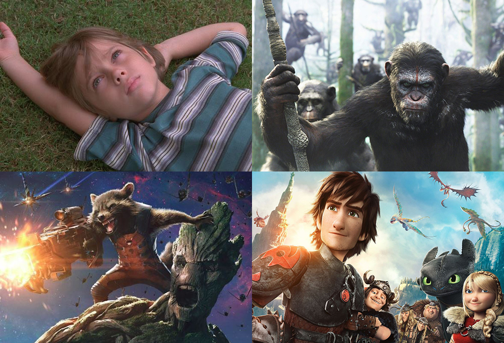 July Film Preview: How to Train Your Dragon 2, Dawn of the Planet of the Apes & Guardians of the Galaxy