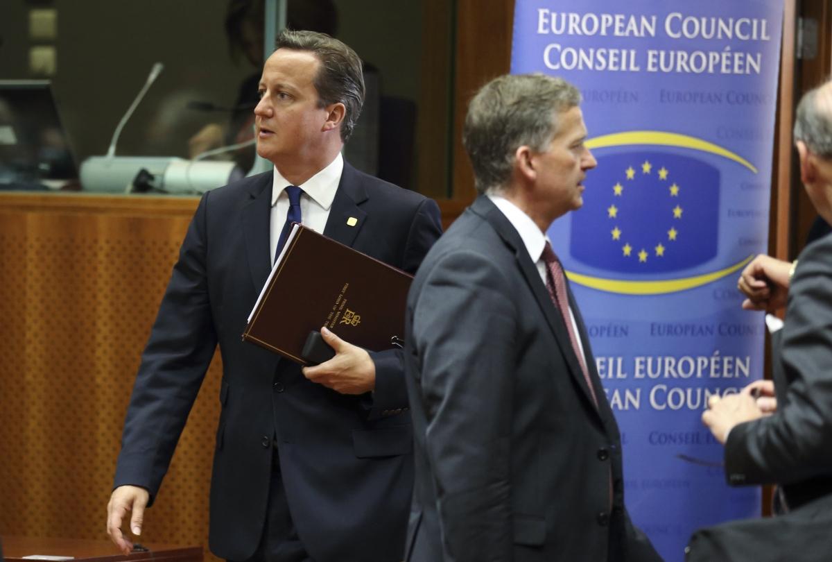 British Prime Minister David Cameron EU