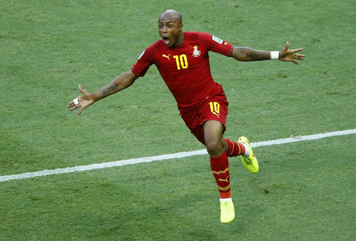Liverpool and Manchester United Tussle Over Ghana's Andre Ayew
