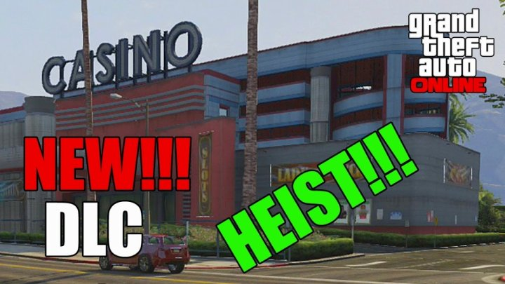 GTA 5 Online Heists: Casino DLC Poker, Black Jack and