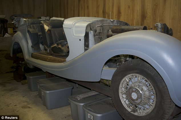 The 1941 Mercedes Benz 540 K Cabriolet B, custom built by Daimler-Benz for Hermann Goering