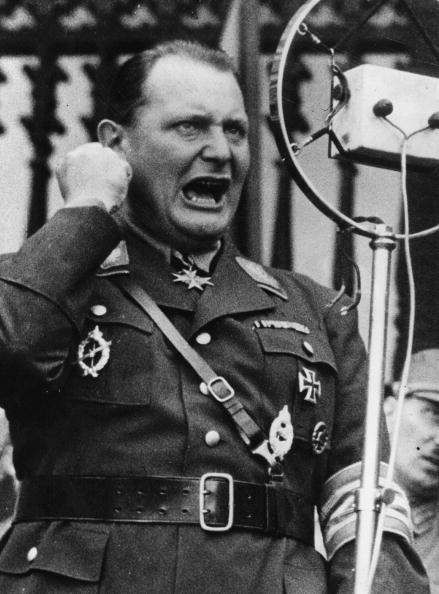 Hermann Goering founded Hitler's Gestapo secret police