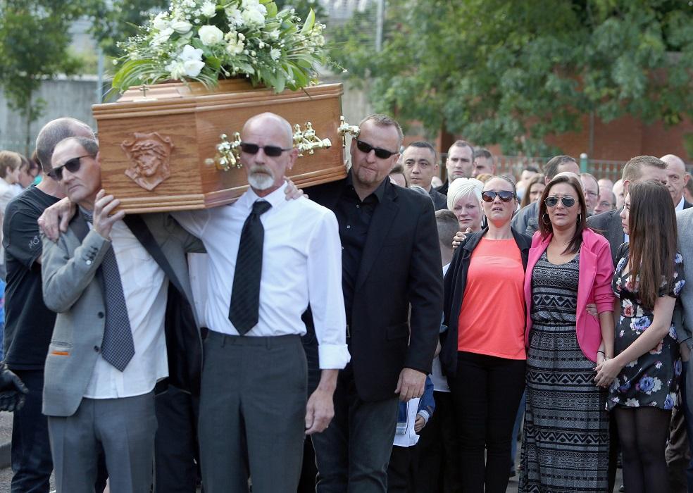 Gerry Conlon funeral