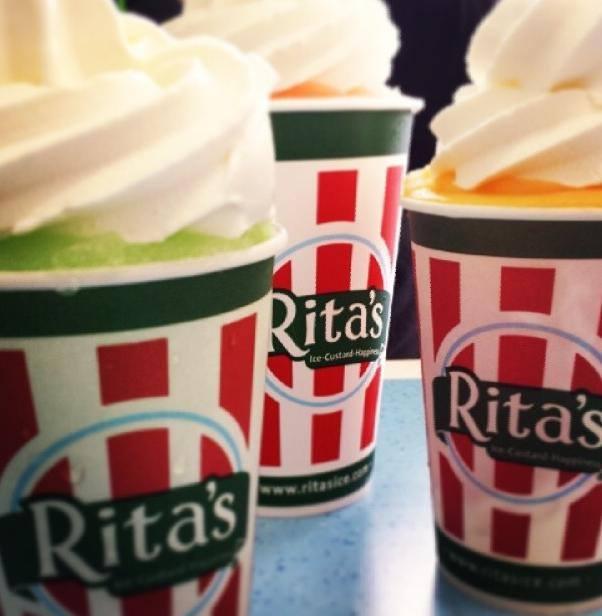 The girl was at Rita's Water Ice store in Philadelphia when the metal door fell on her