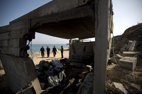 Gaza Strip Hamas Israel Rocket fire