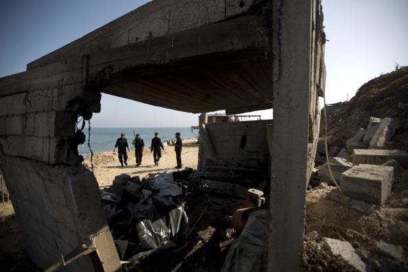 Gaza Strip Hamas Israel Rocket fire