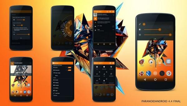 Install ParanoidAndroid Android 4.4.4 Final ROM on Nexus 4, Nexus 5, Nexus 7, and Galaxy Nexus