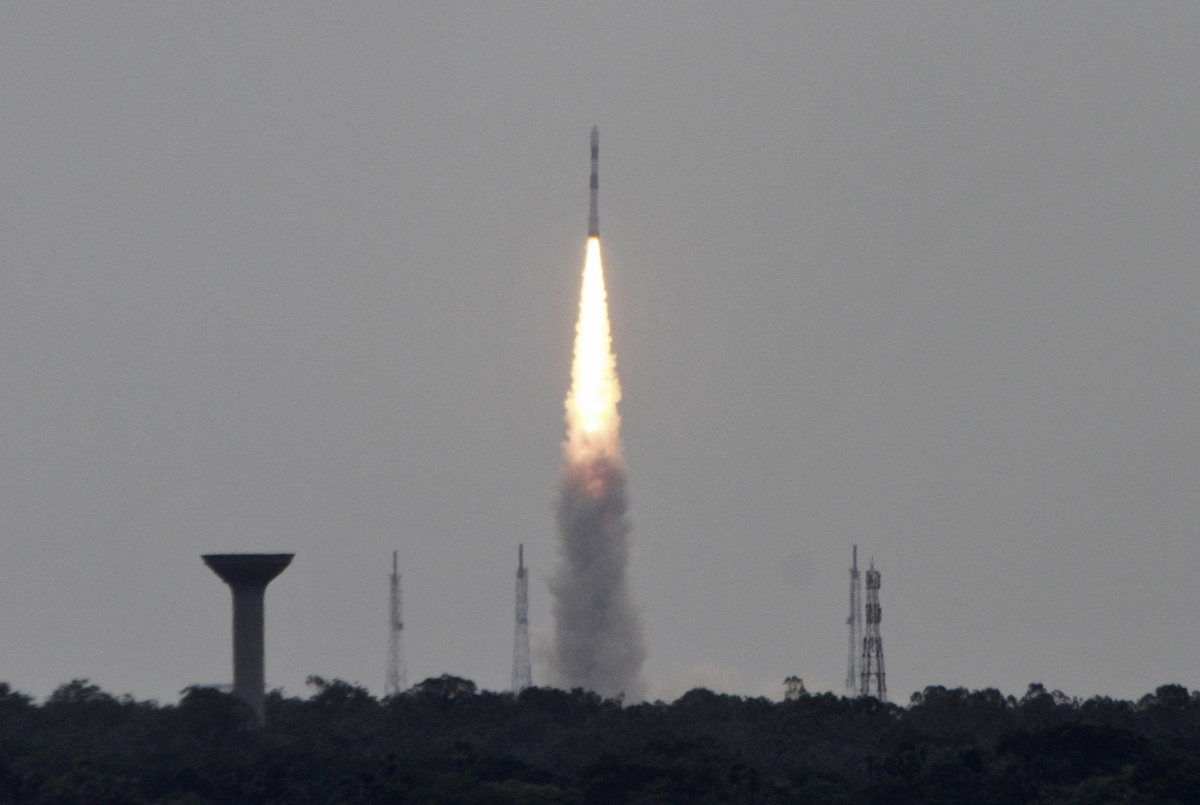 India PSLV-23 launch