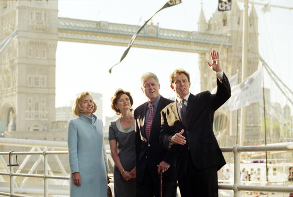 Bill Clinton 1997 state visit