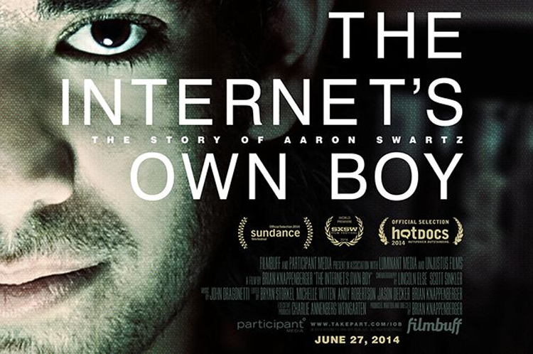 The Internet's Own Boy - a new documentary about the life of Aaron Swartz and his fight for a free, democratic internet