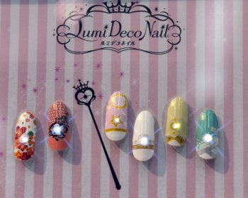 Lumi Deco Nails - a wide range of nail stickers targeted at young people