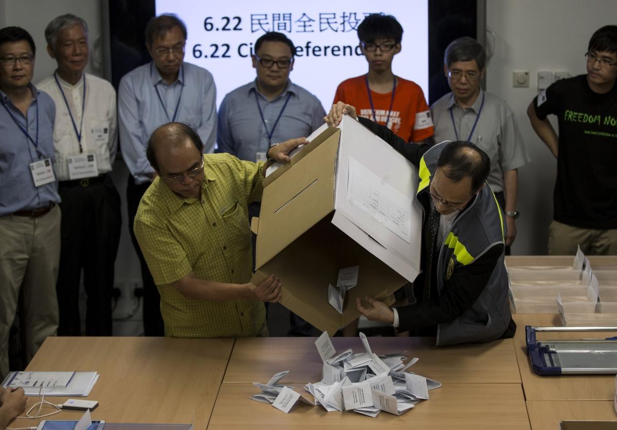 Hong Kong Referendum