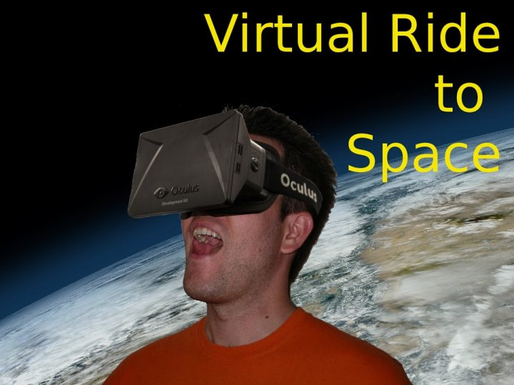 Virtual Ride to Space - a new 3D virtual reality game needs your help on Kickstarter