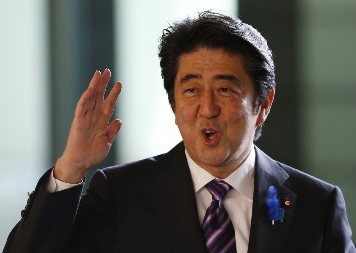 Japan military policy and Shinzo Abe