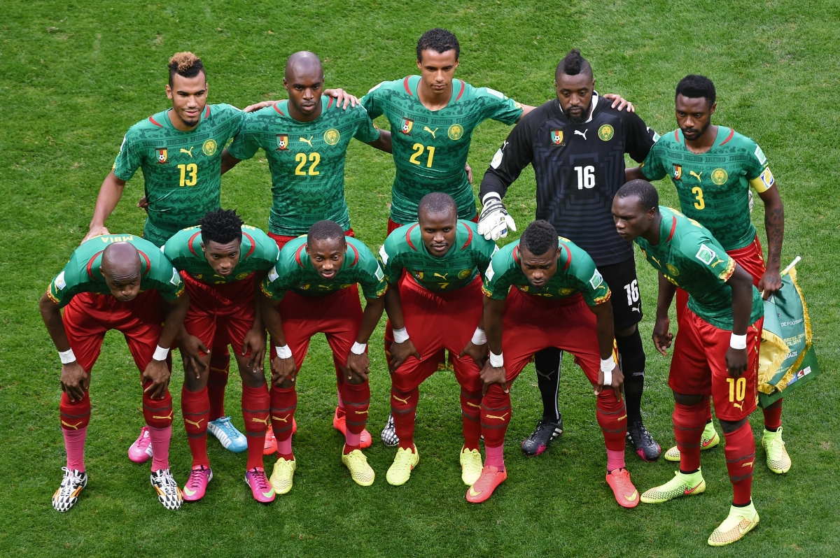 Cameroon FA is hunting 'seven bad apples' in corruption probe in to match fixing at Brazil World Cup