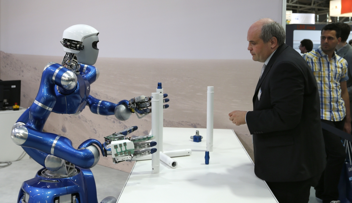 Agile Justin robot