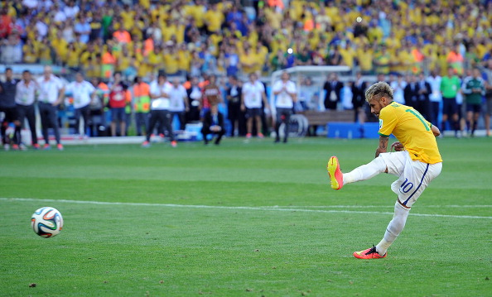Neymar penalty