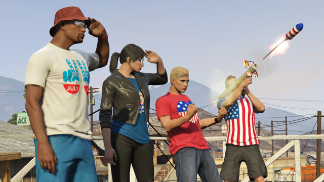 GTA 5 Online 1.15 Update: Independence Day DLC Brings 7 New Houses, Monster Truck, Fireworks and More