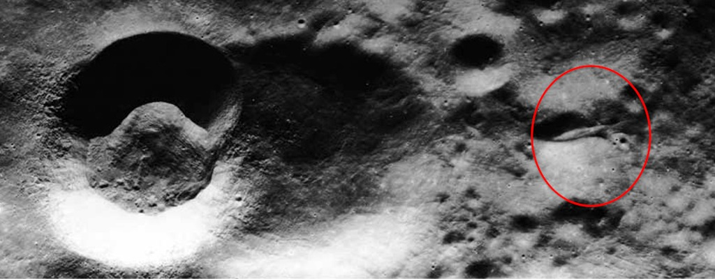 Nasa's photo is apparently proof that Apollo 20 did occur