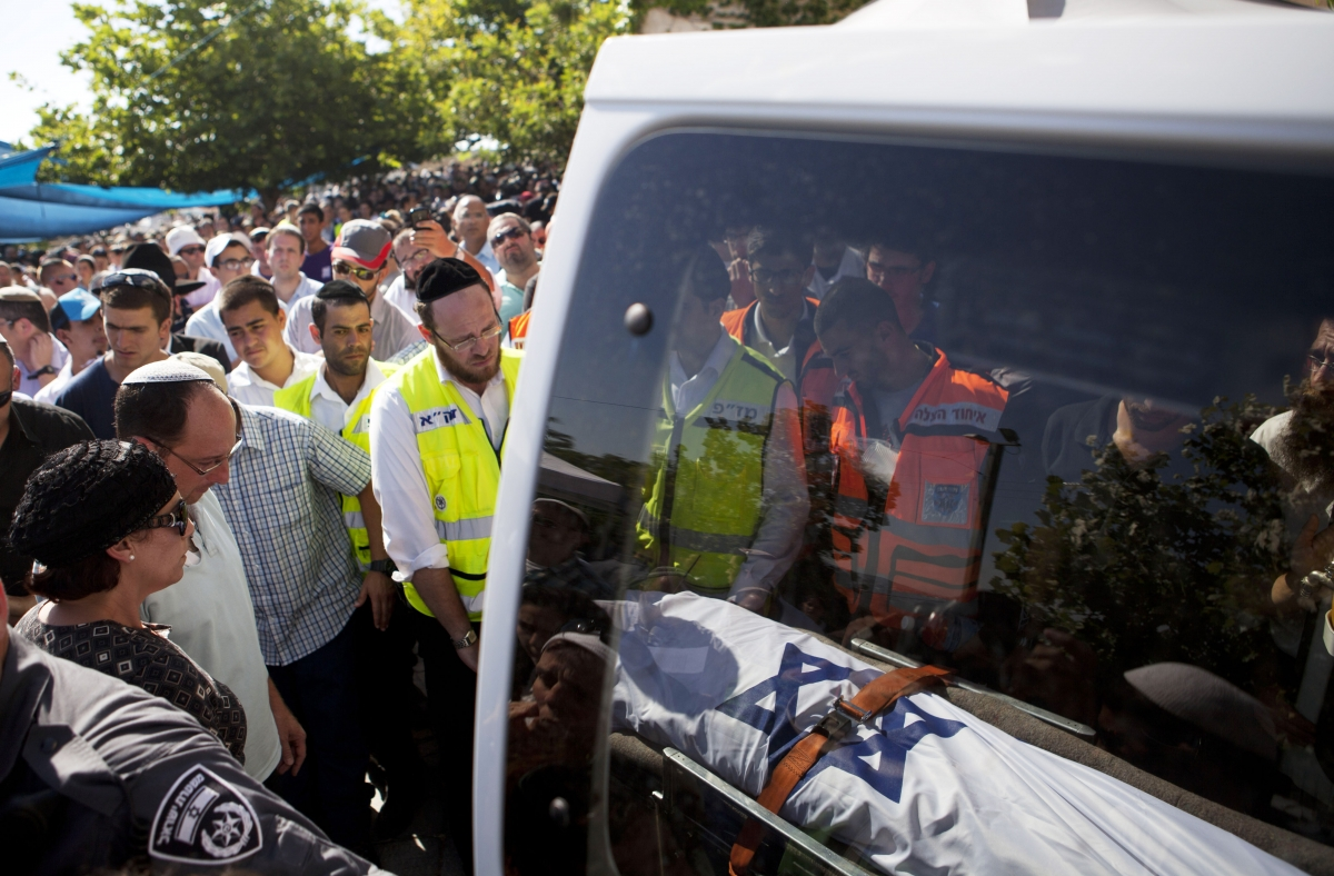 Israel teens funeral
