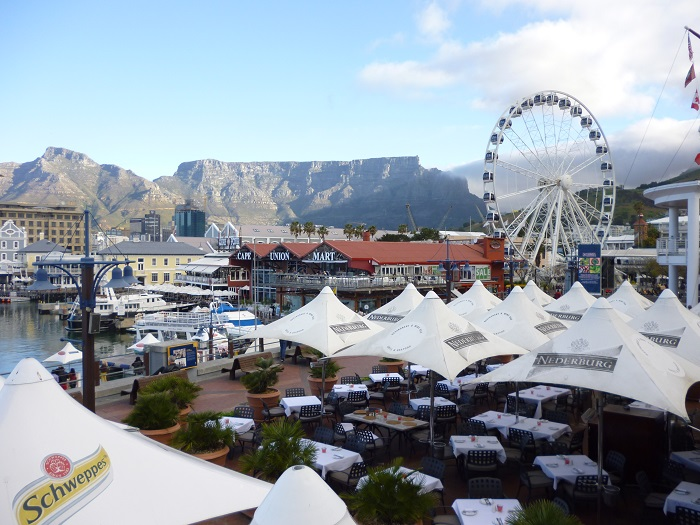 The picturesque happening Cape Coast