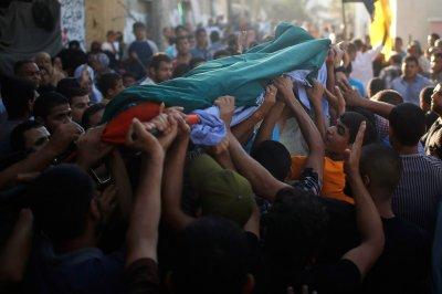 palestininian funeral