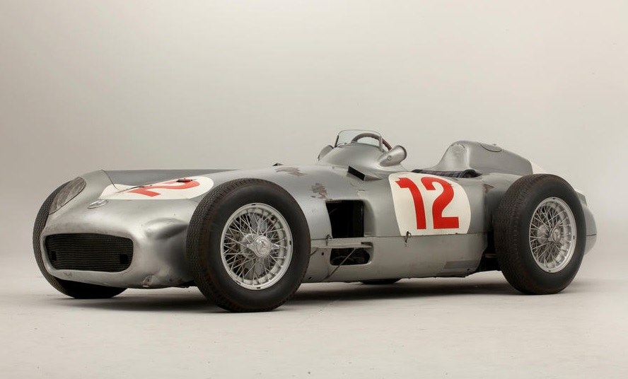 1954 Mercedes-Benz W196R Formula 1 Racing Single-Seater