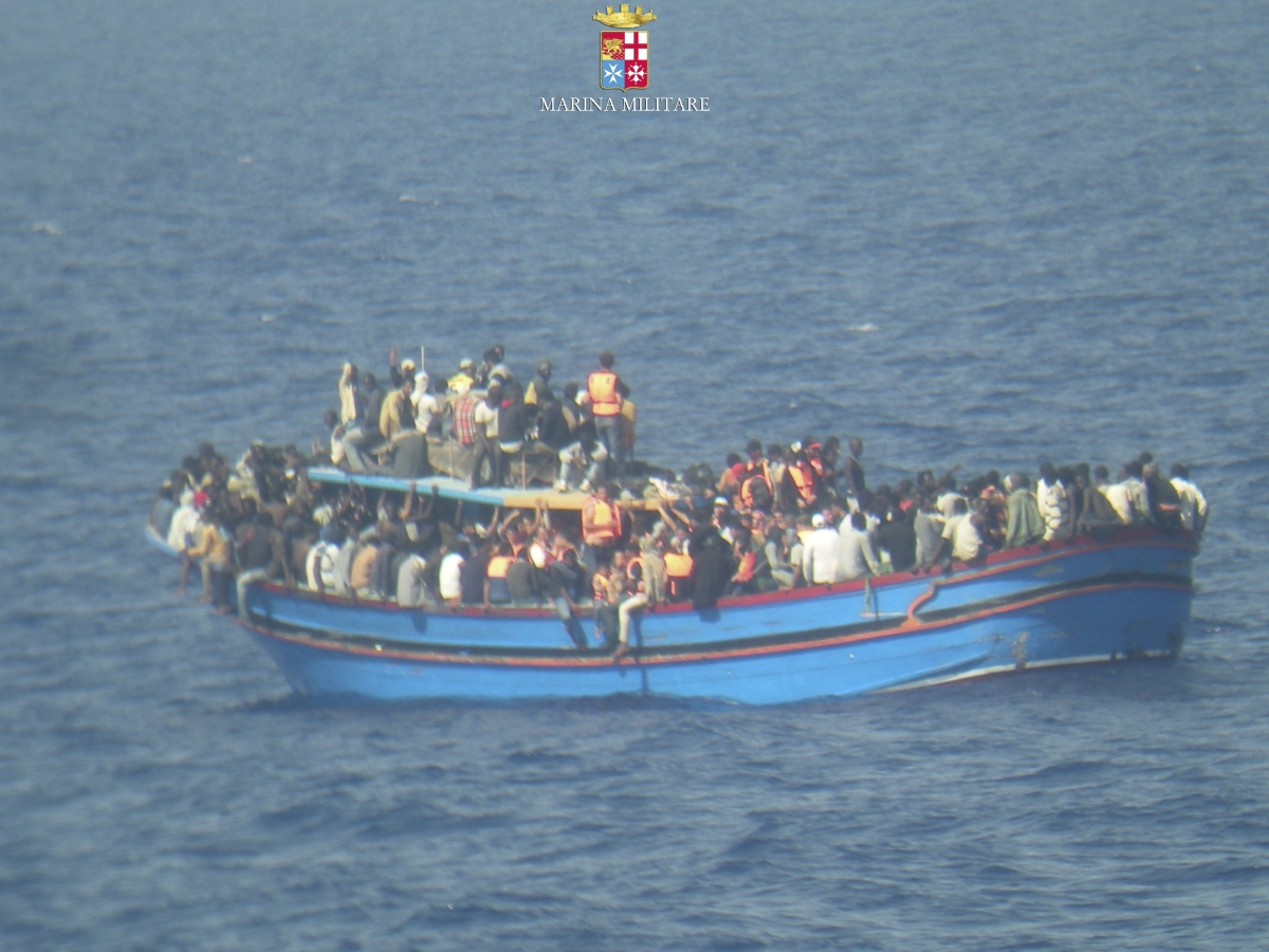 Italy 45 Migrants Died Amassed in Fish Refrigerated Hold Sicily
