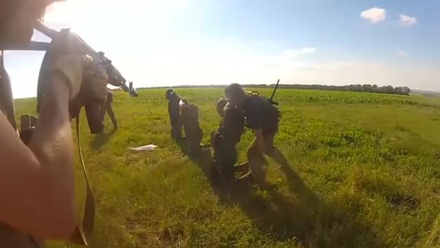 Ukrainian Forces Detain Self-Proclaimed Mayor