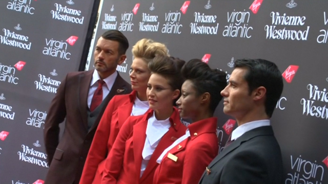 Vivienne Westwood Unveils Her Designs for Virgin Atlantic