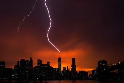 lightning world trade center