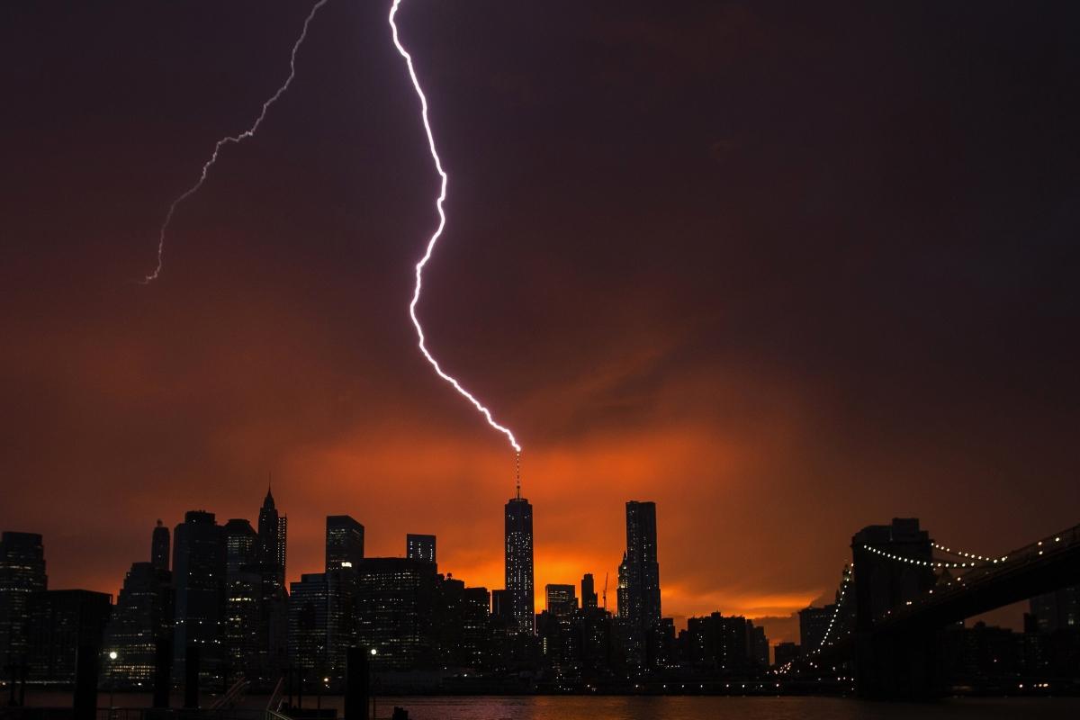 Manhattan Storm NYC
