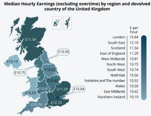 Regional pay ONS