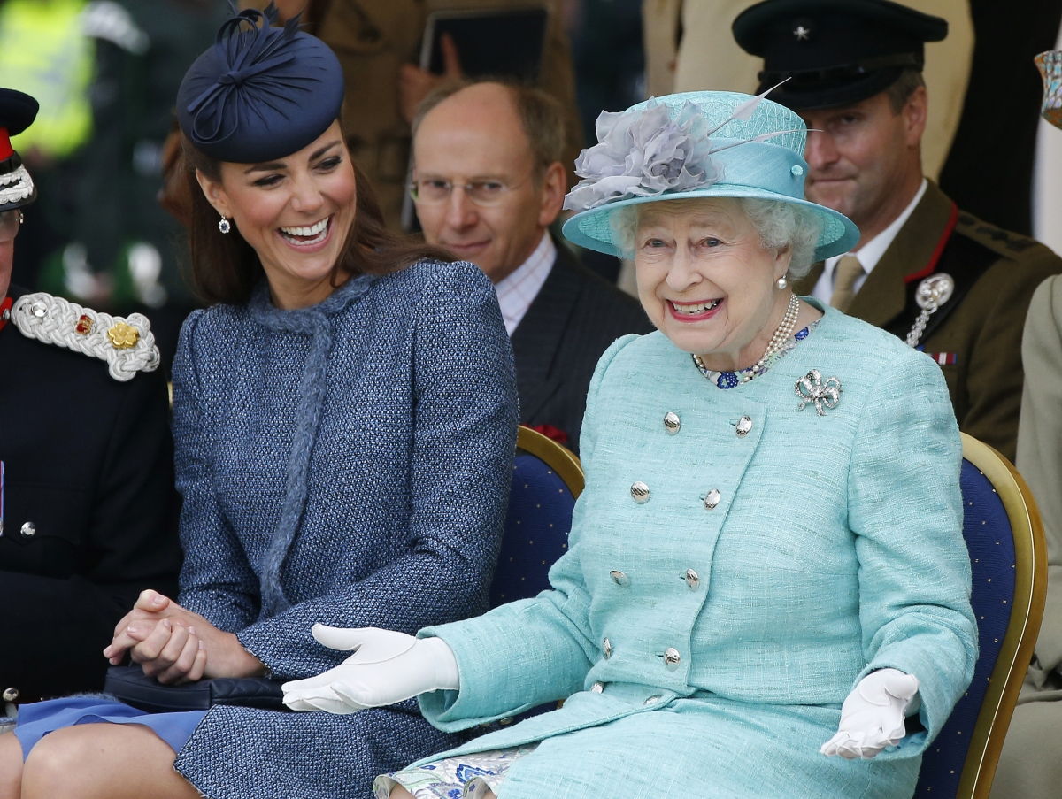 """Life & Style claims Kate Middleton is """"tormented"""" by the Queen over her alleged spending habits."""