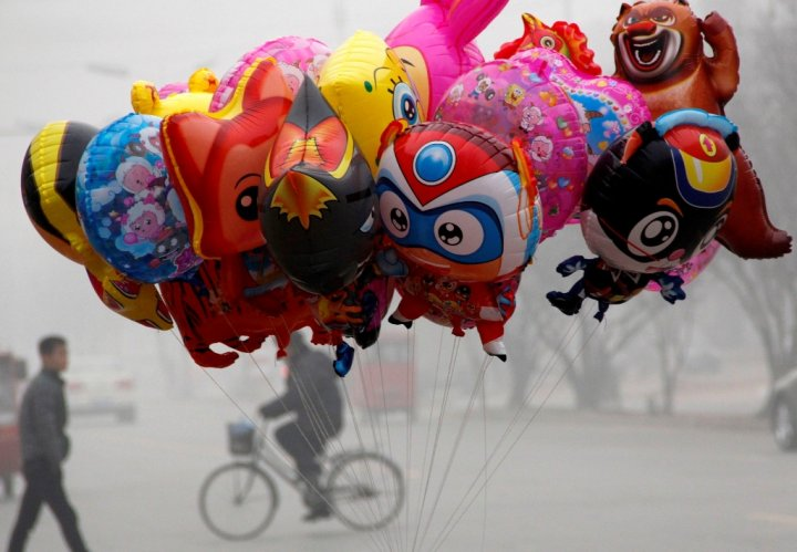 China Balloon Vendor